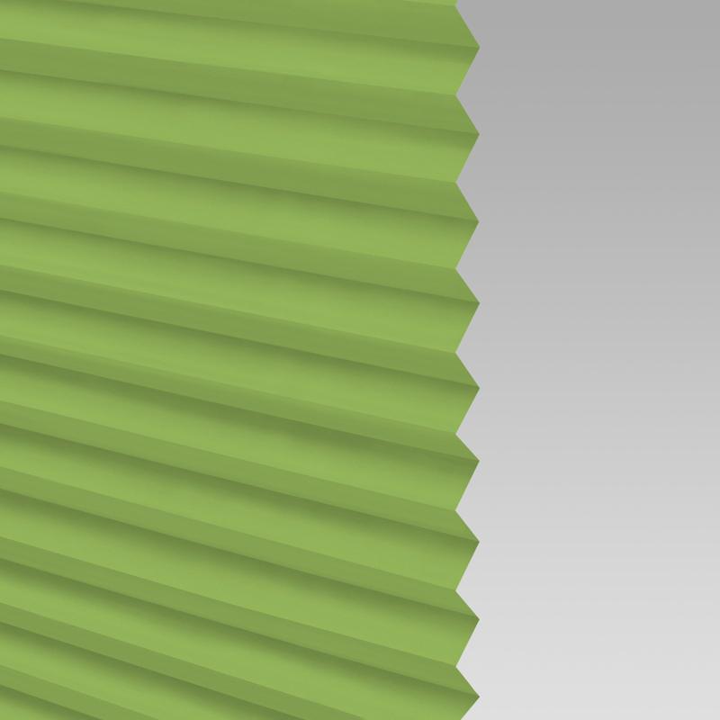 restposten klemmfix plissee faltstore mit seitenverspannung ohne bohren gr n. Black Bedroom Furniture Sets. Home Design Ideas